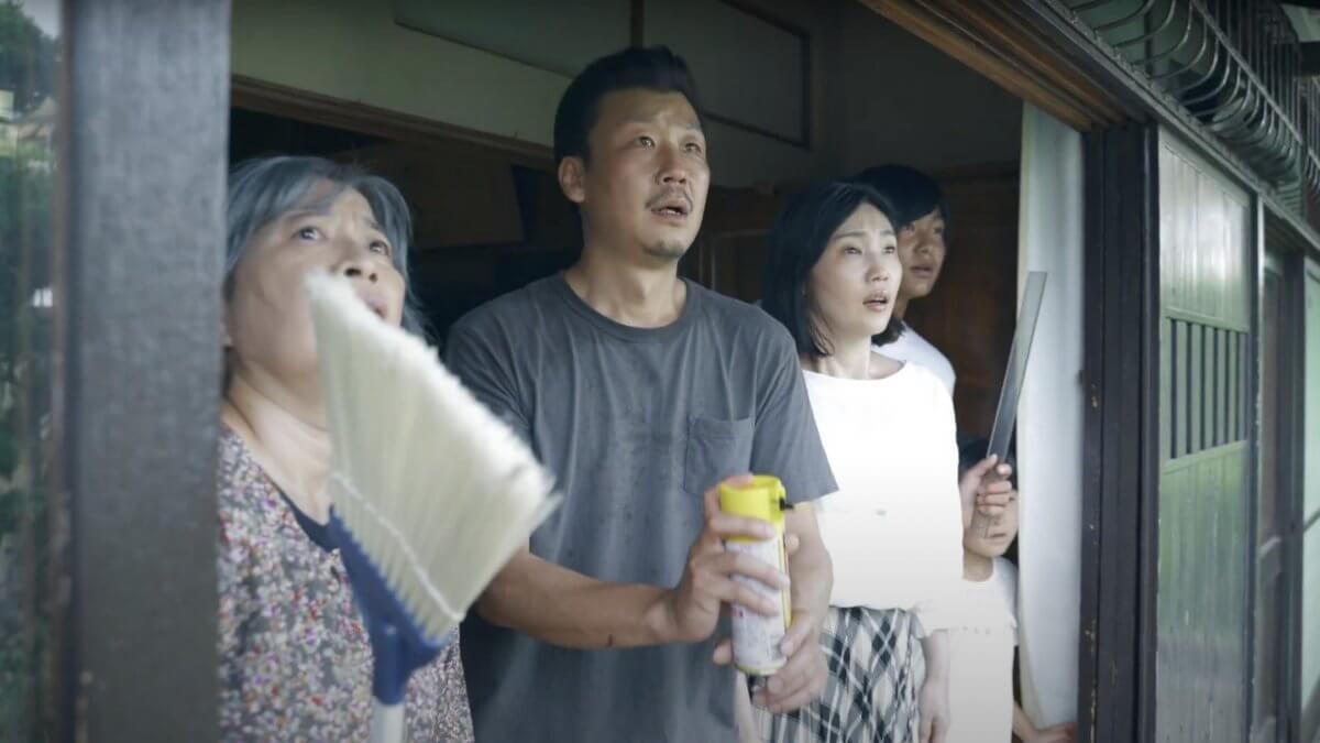 「蜂で繋がる家族」ワンカットショートドラマ
